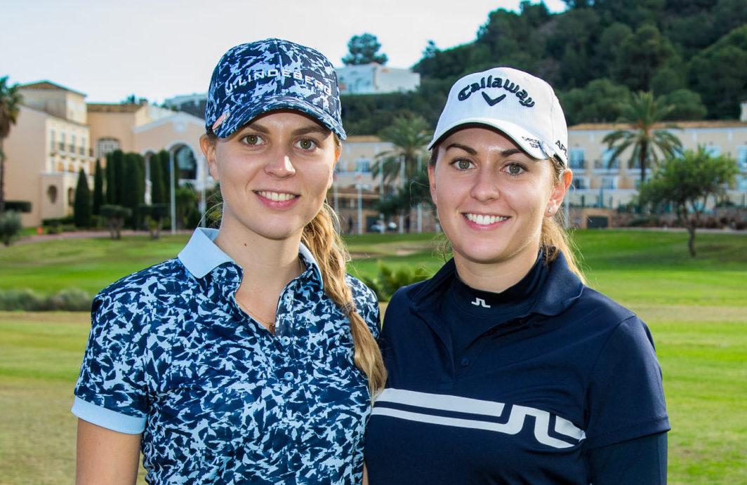 Morgane und Kim Métraux