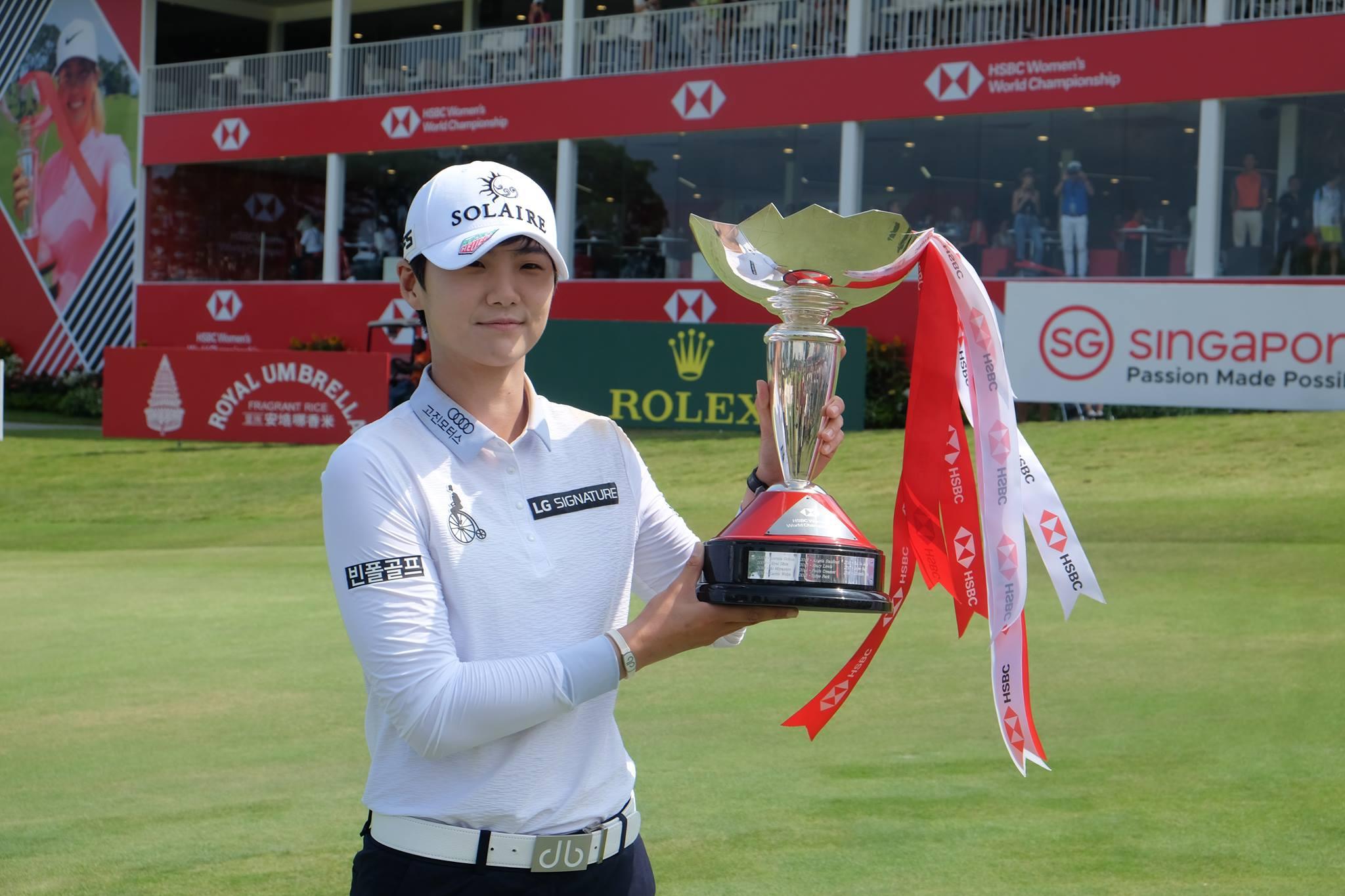 Sung Hyun Park, Winner of HSBC Women's World Championship 2019.