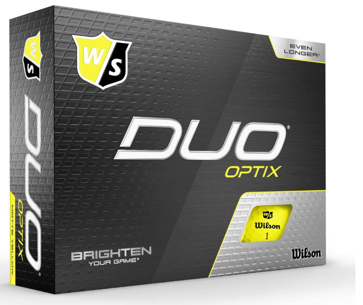 Wilson Duo Optix Golfball