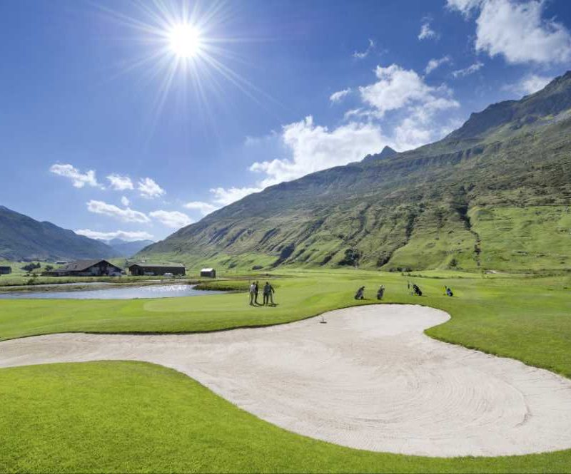 Andermatt,Swiss Alps,Golf