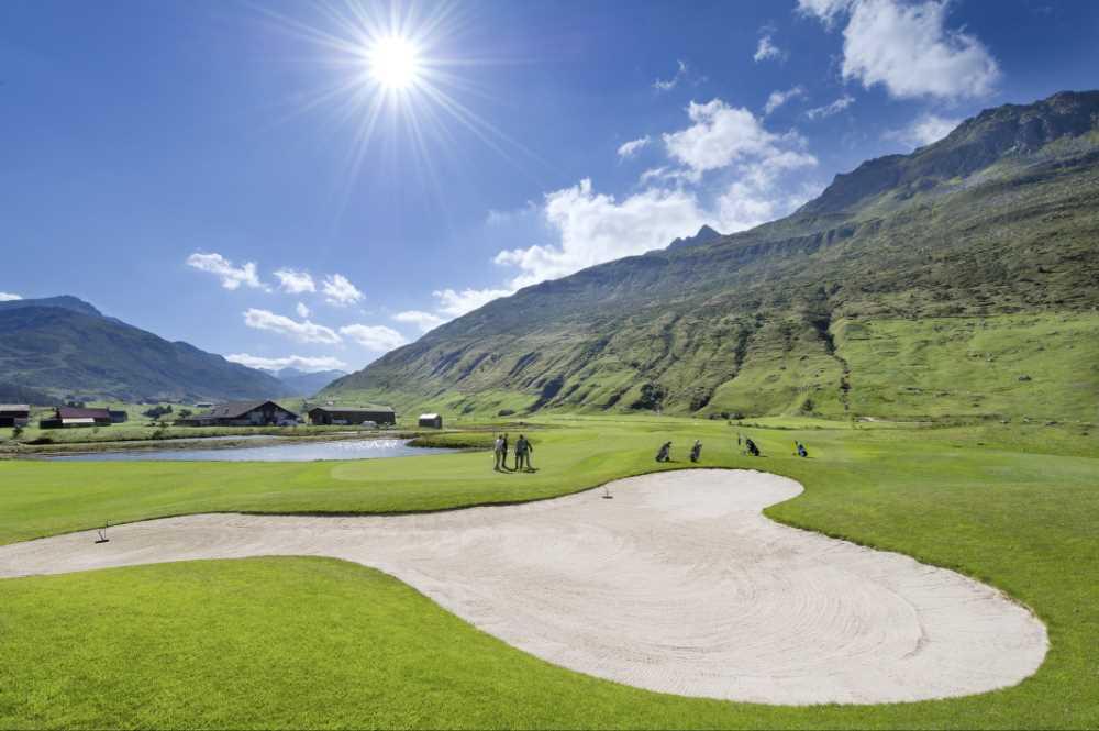Andermatt,Swiss Alps,Golf