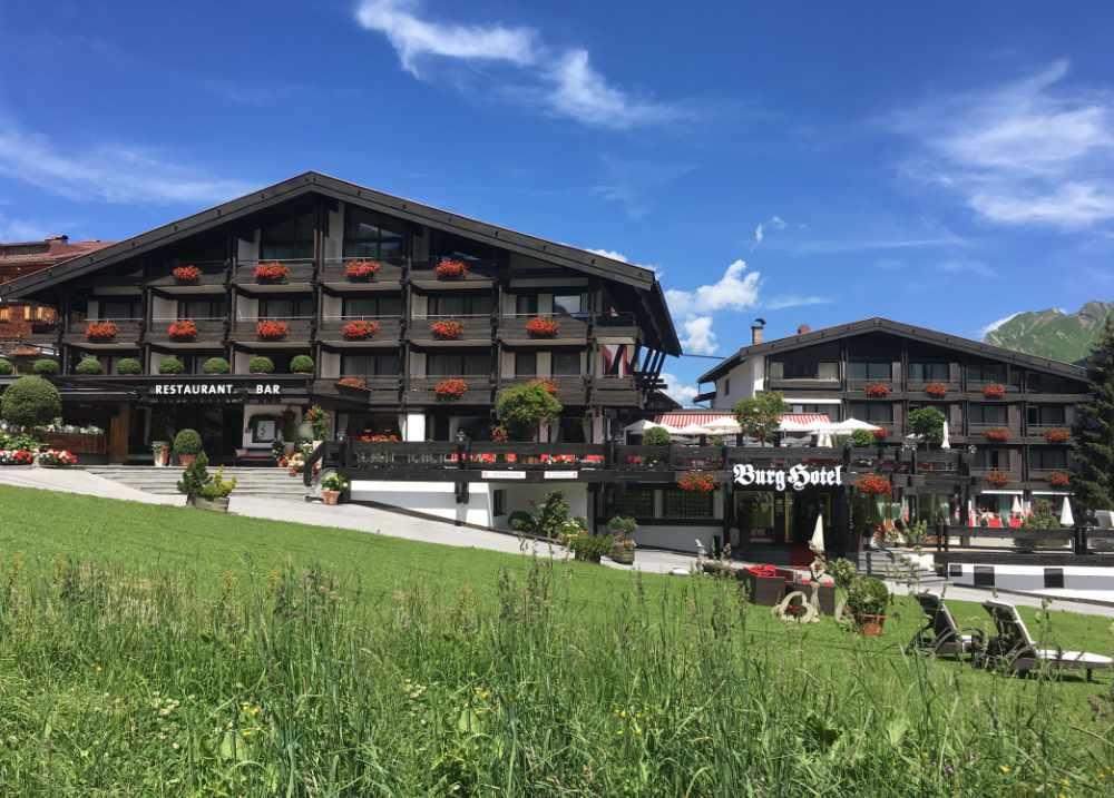 Burg Hotel Lech - Golf in Vorarlberg