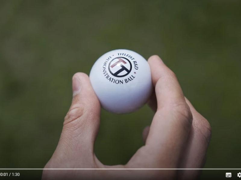 Titleist Dimpleless Golfball