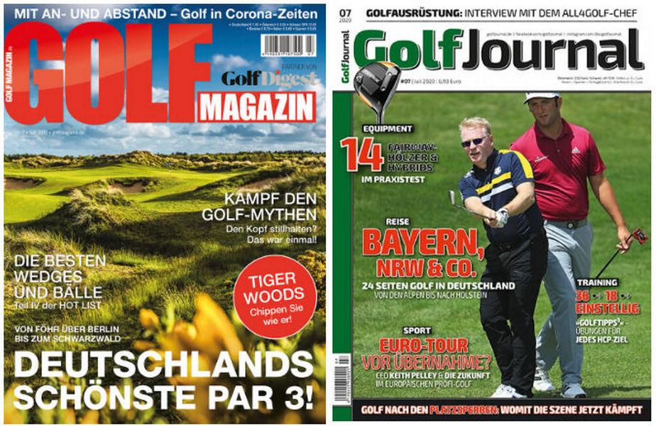 GolfMagazin und GolfJournal fusioniert