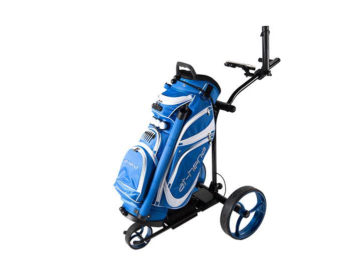 Der SPIRIT, der beliebteste Elektro Trolley auf dem Golfplatz