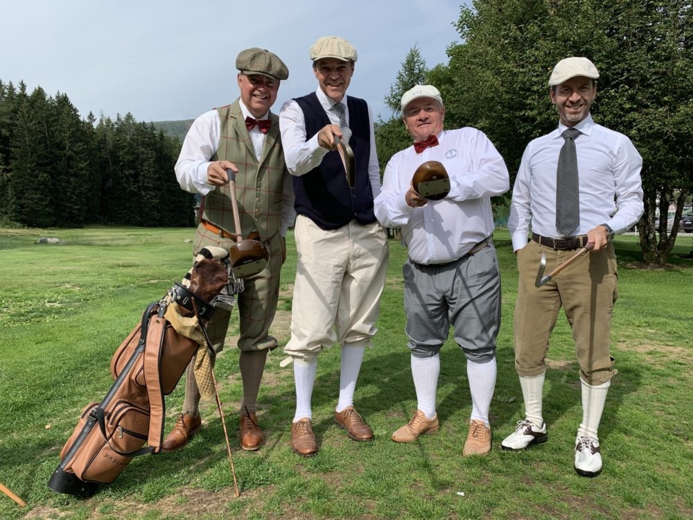 Members of Swiss Hickory Golf