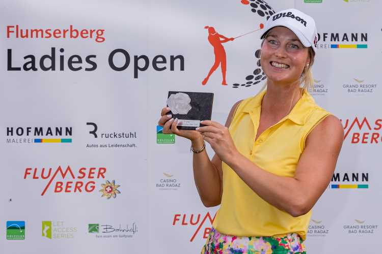 Winner 2020 - Sanna NUUTINEN (FIN) - Flumserberg Ladies Open at Golf Gams-Werdenberg - 20-09-05- Daniel H. Stauffer/photo - 2020©stauffi.com