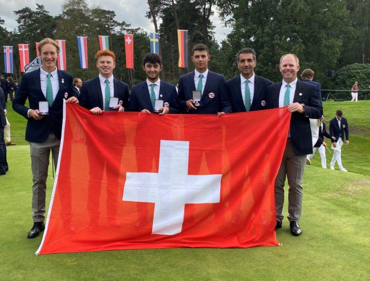 Schweizer Männerteam Team Europameisterschaften