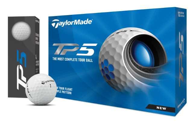 TalyorMade TP5 und TP5x Golfbälle