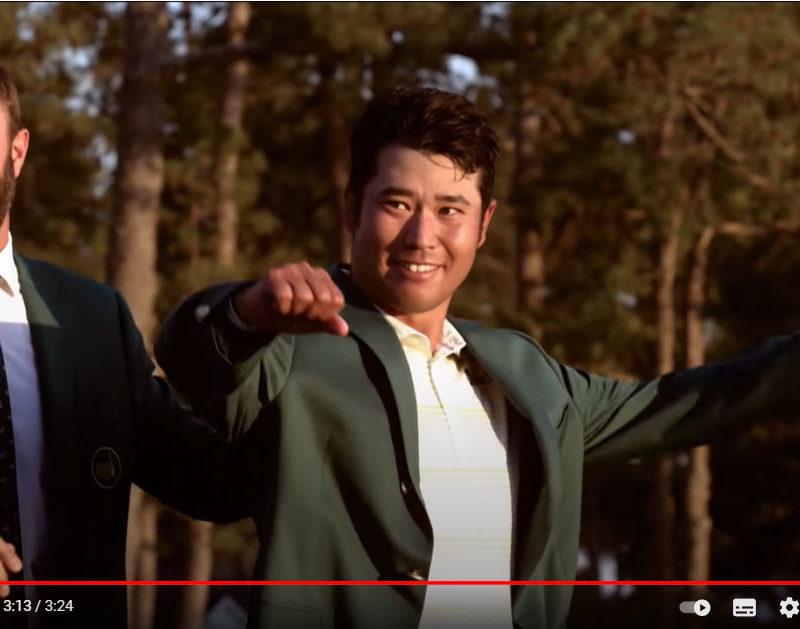 Hideki Matsuyama Sieger Masters 2021