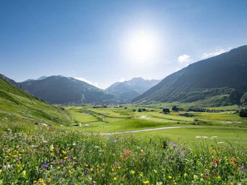Andermatt Swiss Alps Golf Course